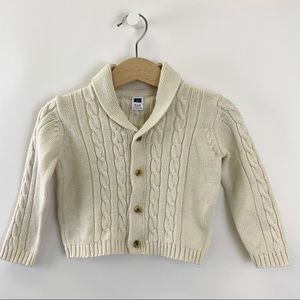 Janie and Jack Cable Knit Cardigan